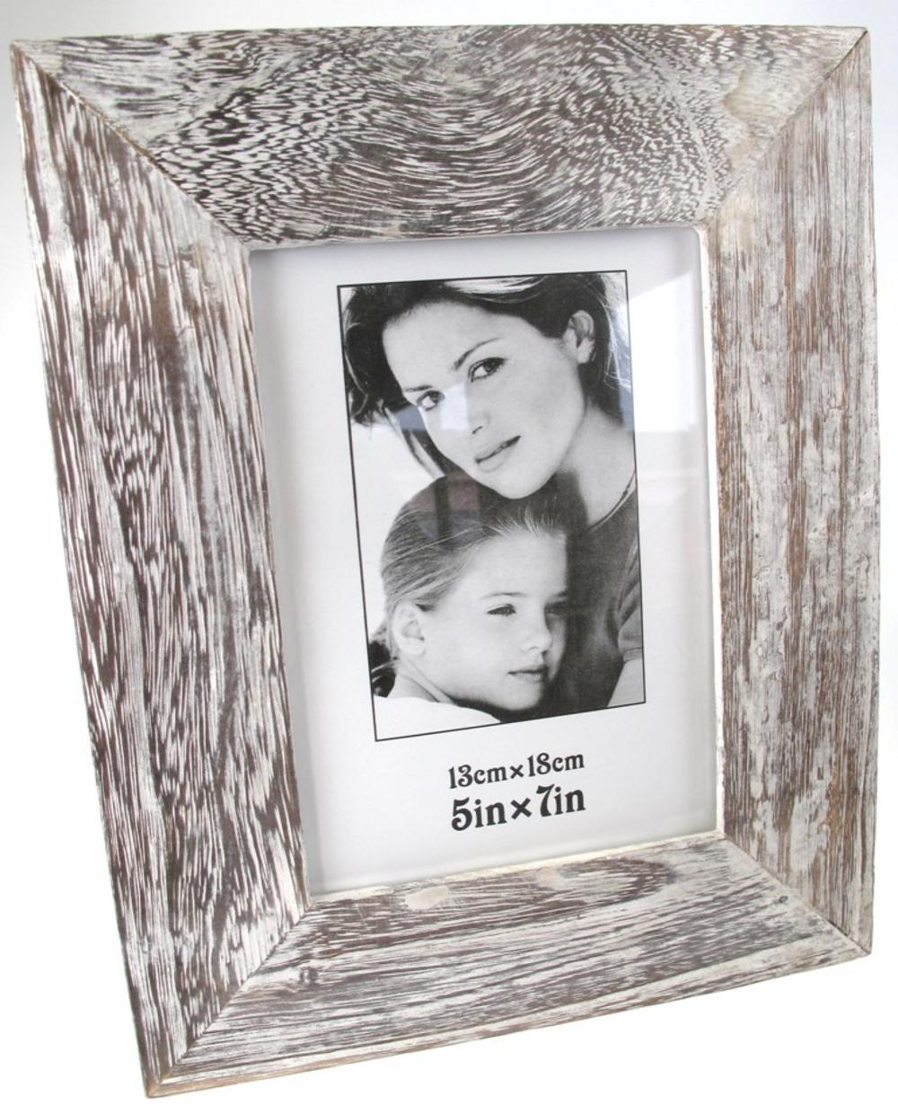 Stone The Crows Wood Relief Large Photo Frame 5X7