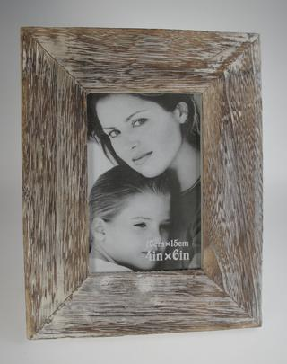 Wood Relief Photo Frame 4 x 6 Thumbnail 1