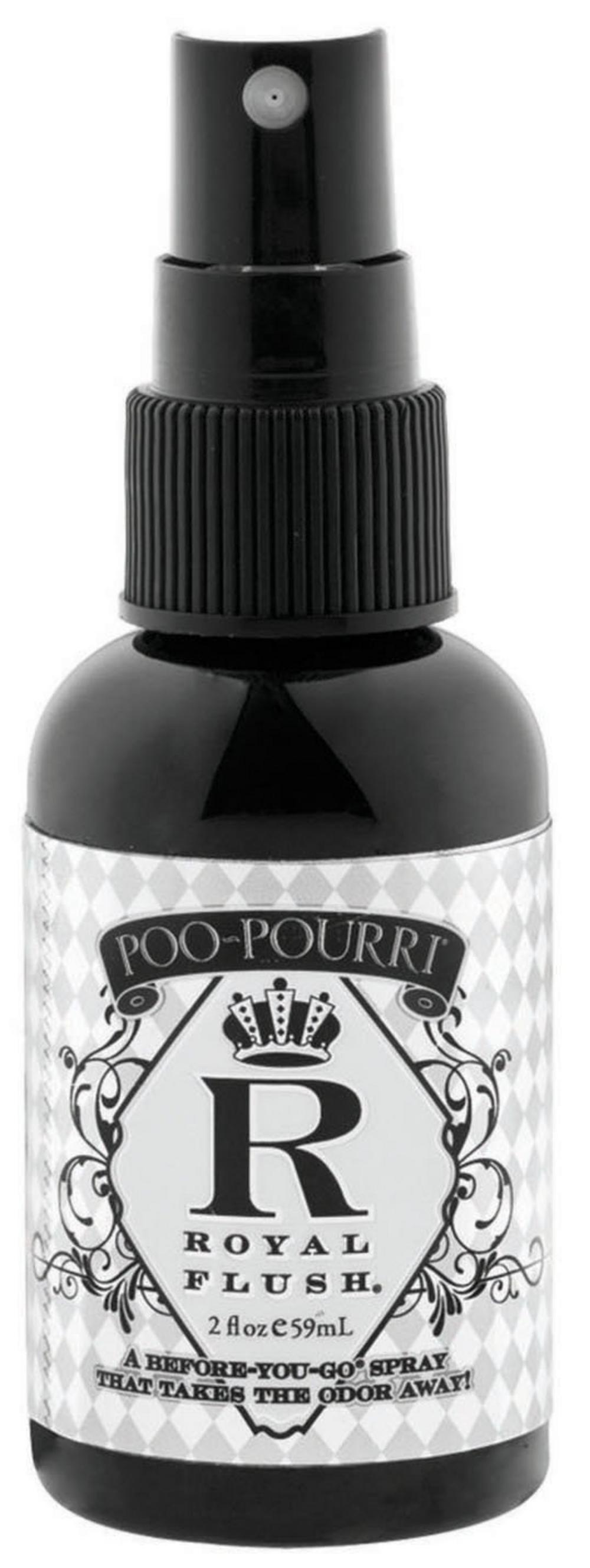Poo Pourri Royal Flush Toilet Spray 2Oz -Ideal For A Gift-Dinner Party-Your Home