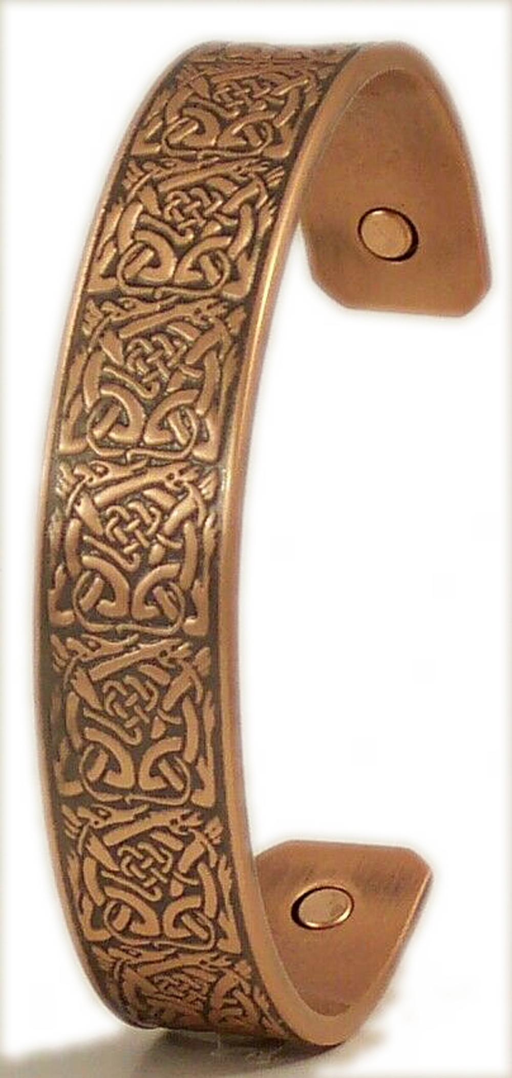 Pure By Coppercraft Celtic Copper Magnetic Bracelet Med/Lrg - Perfect Gift
