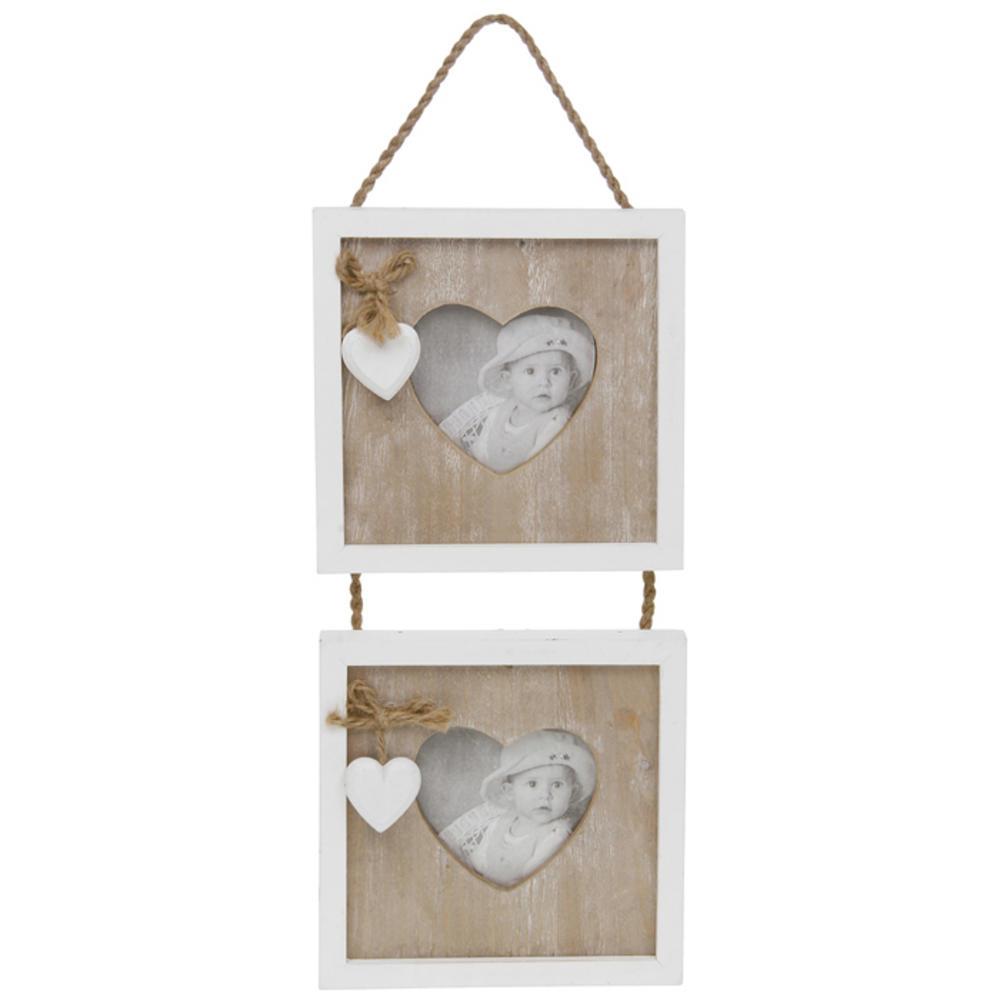 Provence Cream Heart Hanging Photo Frame