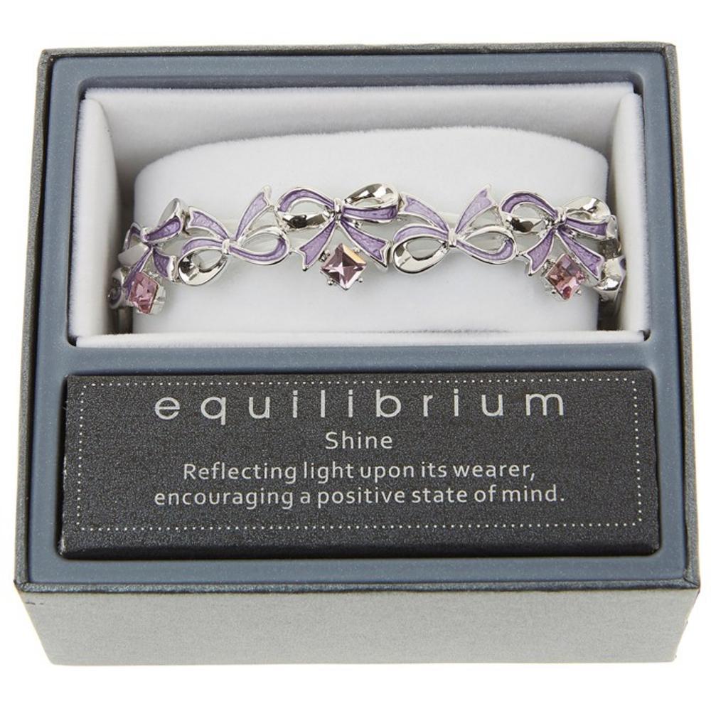 Ornate Purple Bow Design