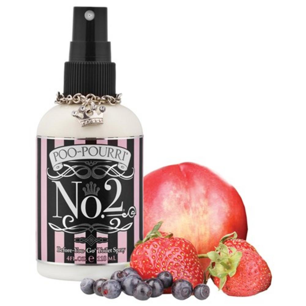 Poo Pourri No 2 Toilet Spray 4Oz -Ideal For A Gift-Dinner Party-Your Home