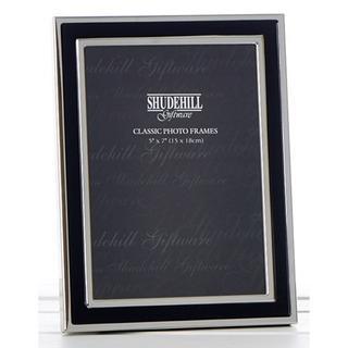 """Shudehill Quality Black & Silver Plain Picture Photo Frame - 5"""" X 7"""" Thumbnail 1"""
