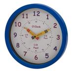 Henley Children's Wall Clock in Blue