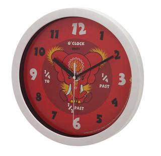 Da Hong Elephant Red Wall Clock Thumbnail 1