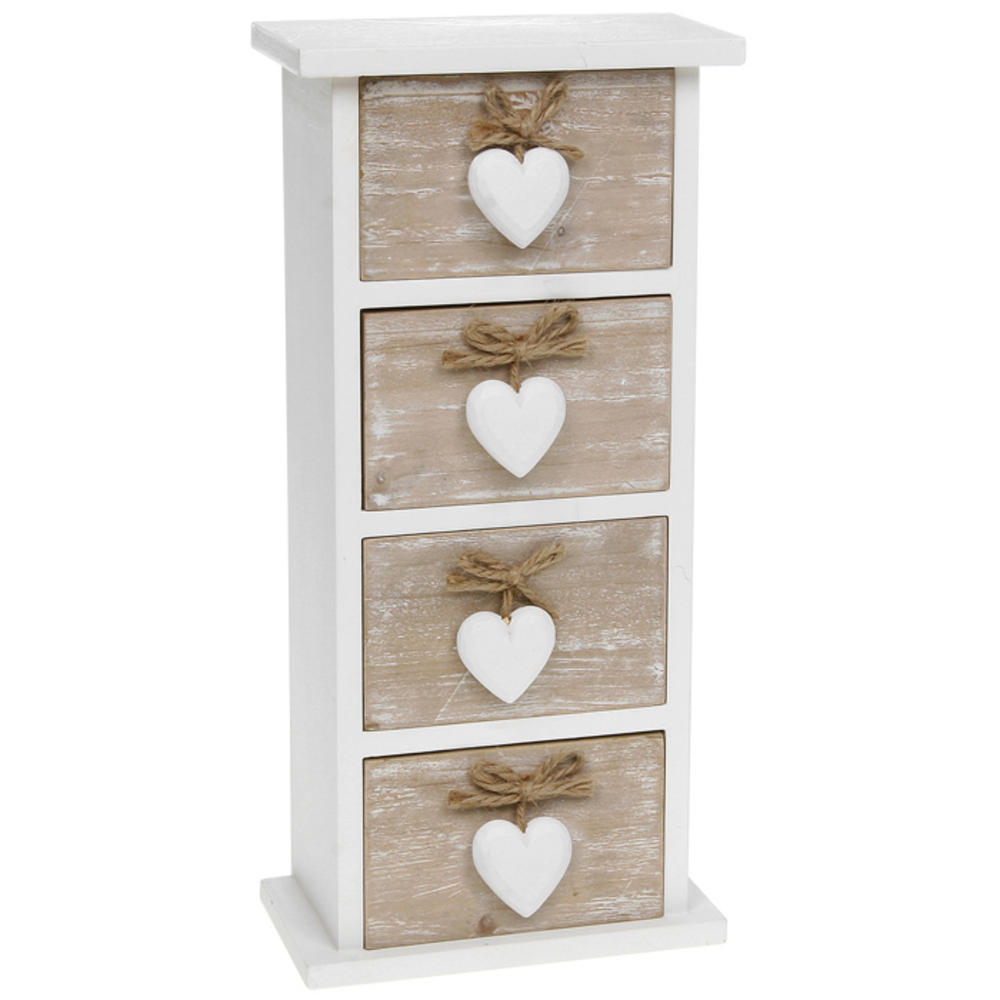 Provence Four Heart Drawer Chest