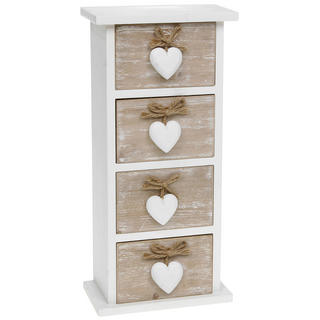 Provence Four Heart Drawer Chest Thumbnail 1