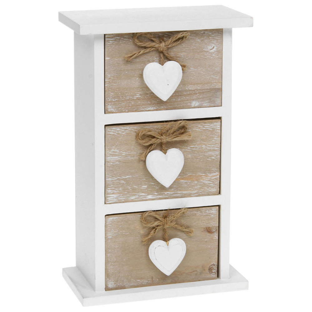 Provence Dark Cream Four Drawer Chest