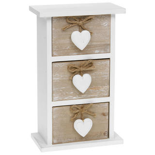 Provence Dark Cream Four Drawer Chest Thumbnail 1
