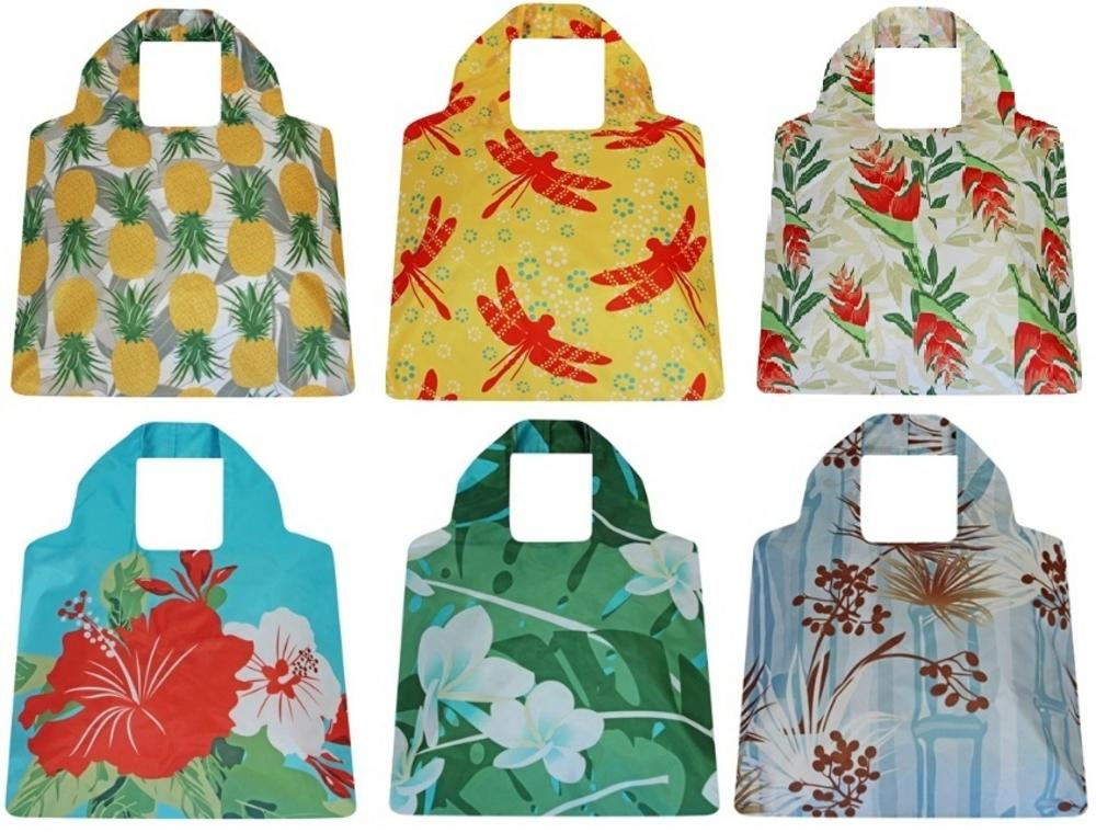 Eco Friendly Reusable Carrier Bag - Hawaiian Range