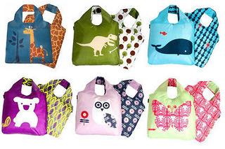 Eco Friendly Reusable Carrier Bag - Kids Range Thumbnail 1