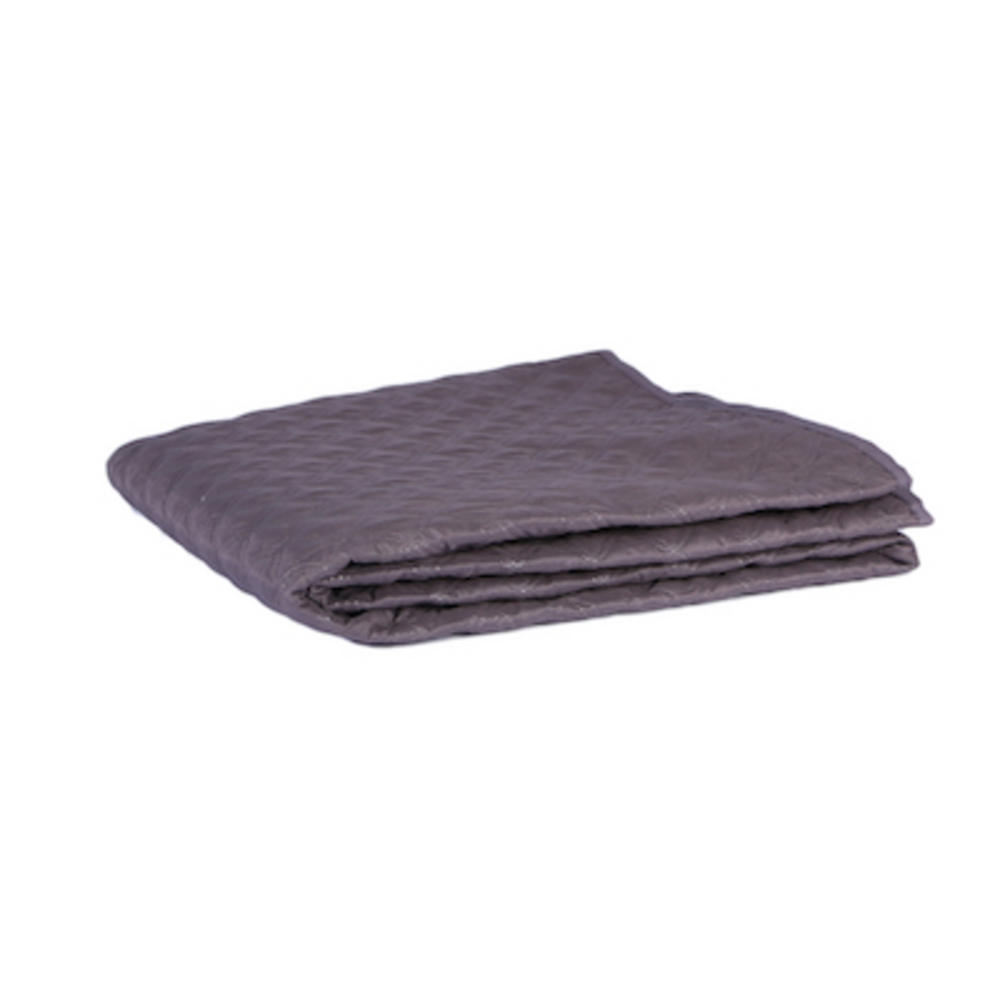 Malini King Size Quilted Bedspread in Grey