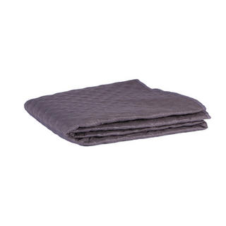 Malini Double Size Quilted Bedspread in Grey Thumbnail 1