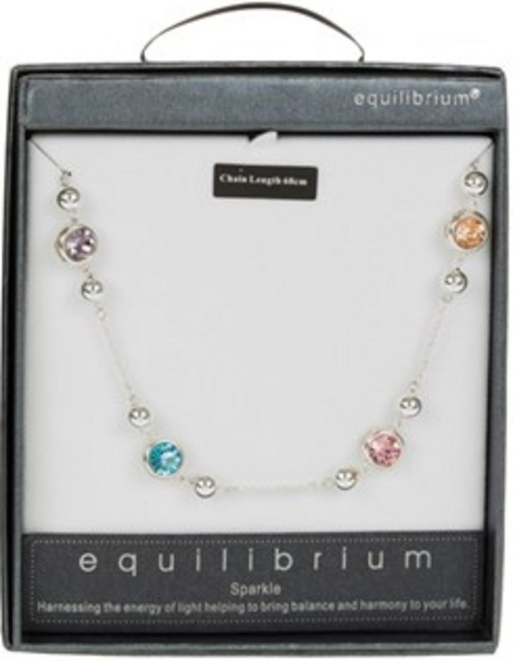 Equilibrium Small Spaced Crystals Long Necklace