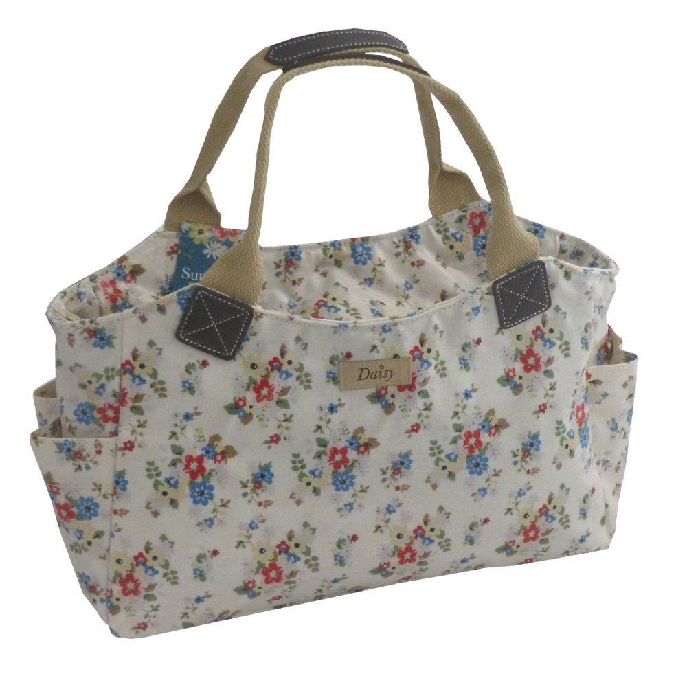 ... about SUMMER DAISY TOTE HAND BAG - FLORAL FLOWER DESIGN - GREAT GIFT