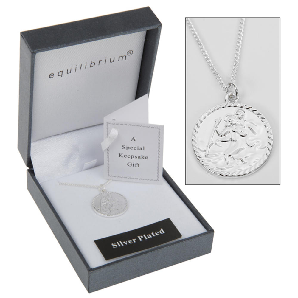 St Christopher's Necklace Christening Gift