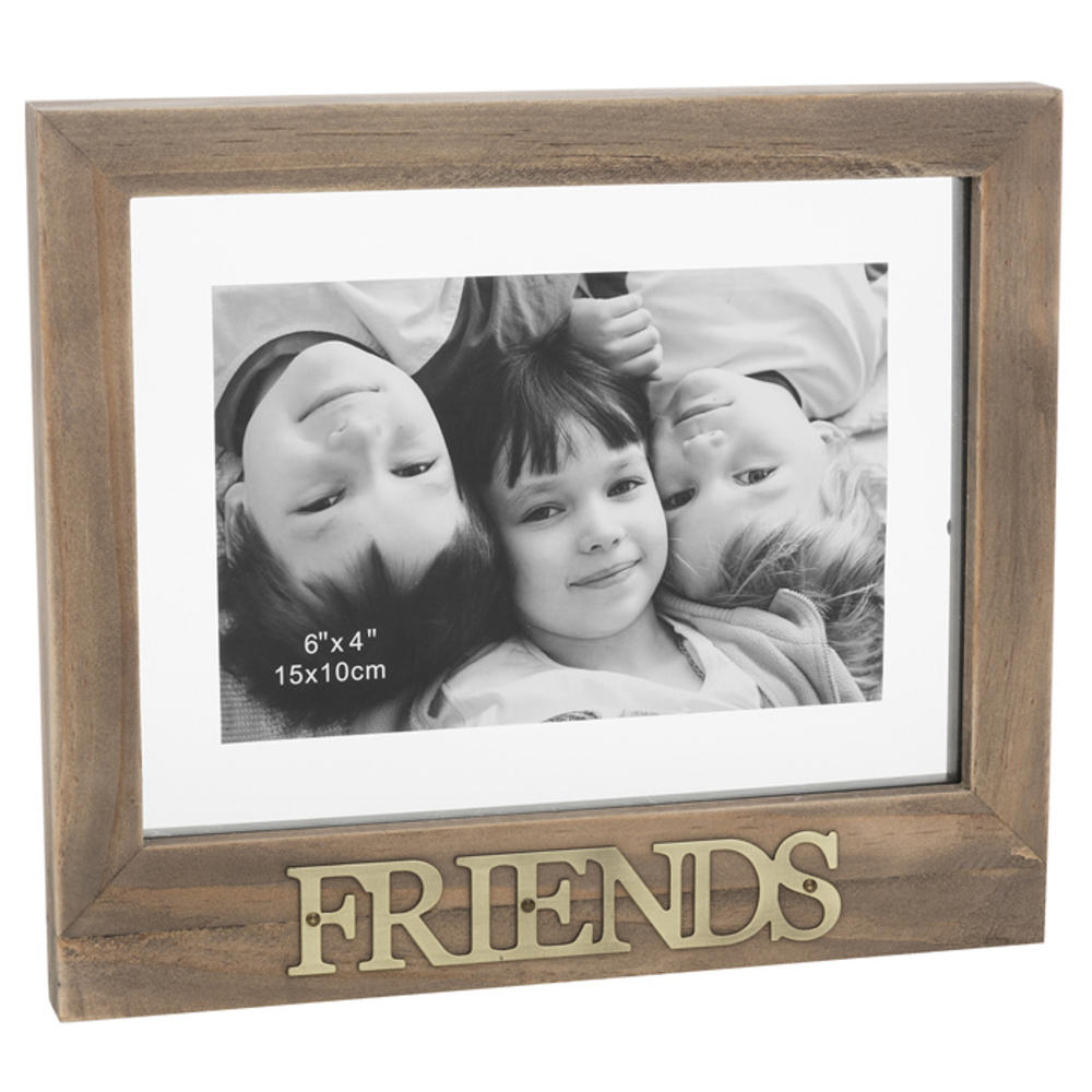 Friends Floating Words Photo Frame