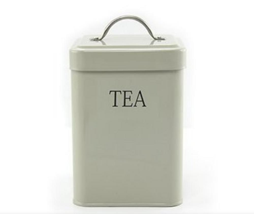 Trendy Sage Tea Storage Canister