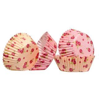 Medium Cupcake Cases, Rose 60Pcs, Paper/Greaseproof W8 X D8 X H3Cm Thumbnail 1