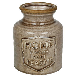 Apothecary Brown Fat Vase Thumbnail 1