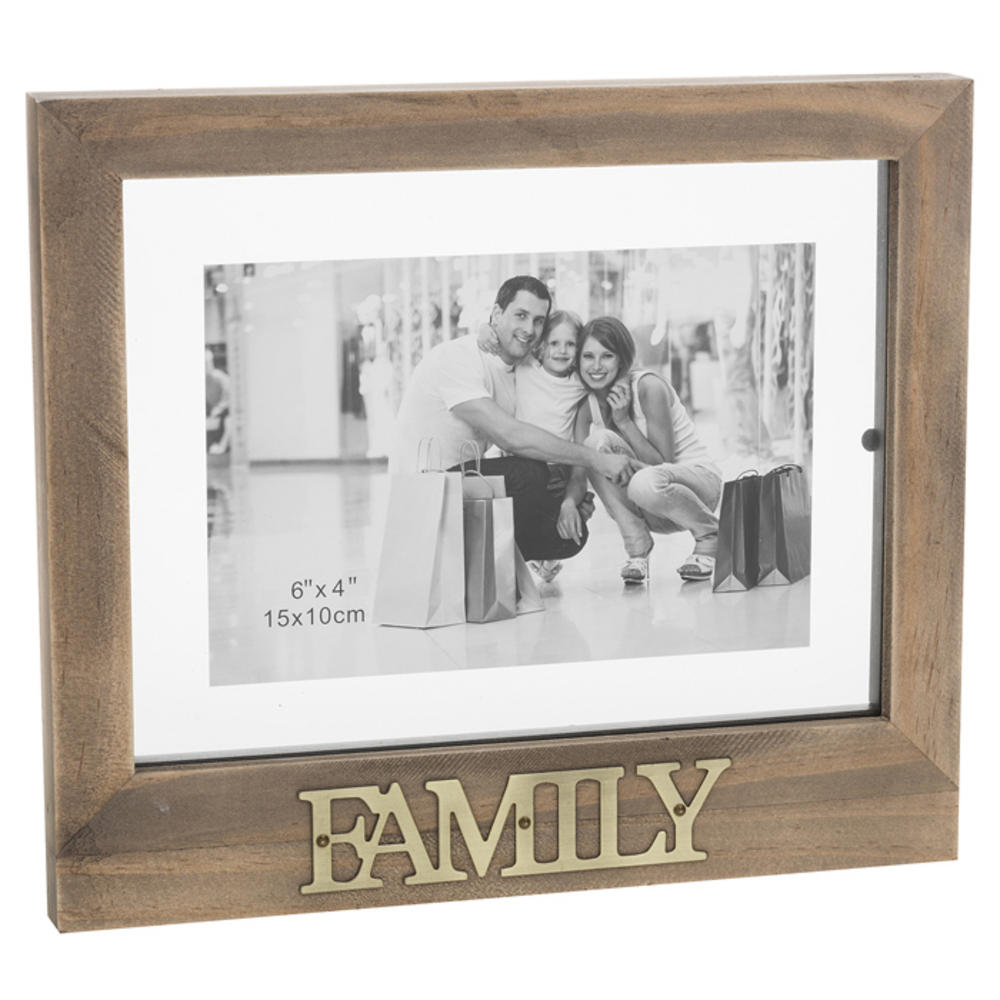 Family Floating Words Photo Frame