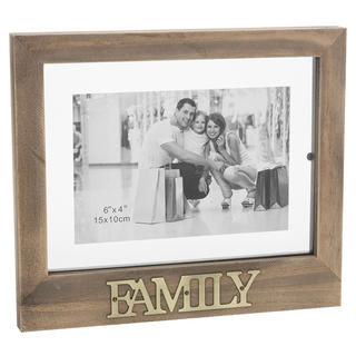 Family Floating Words Photo Frame Thumbnail 1