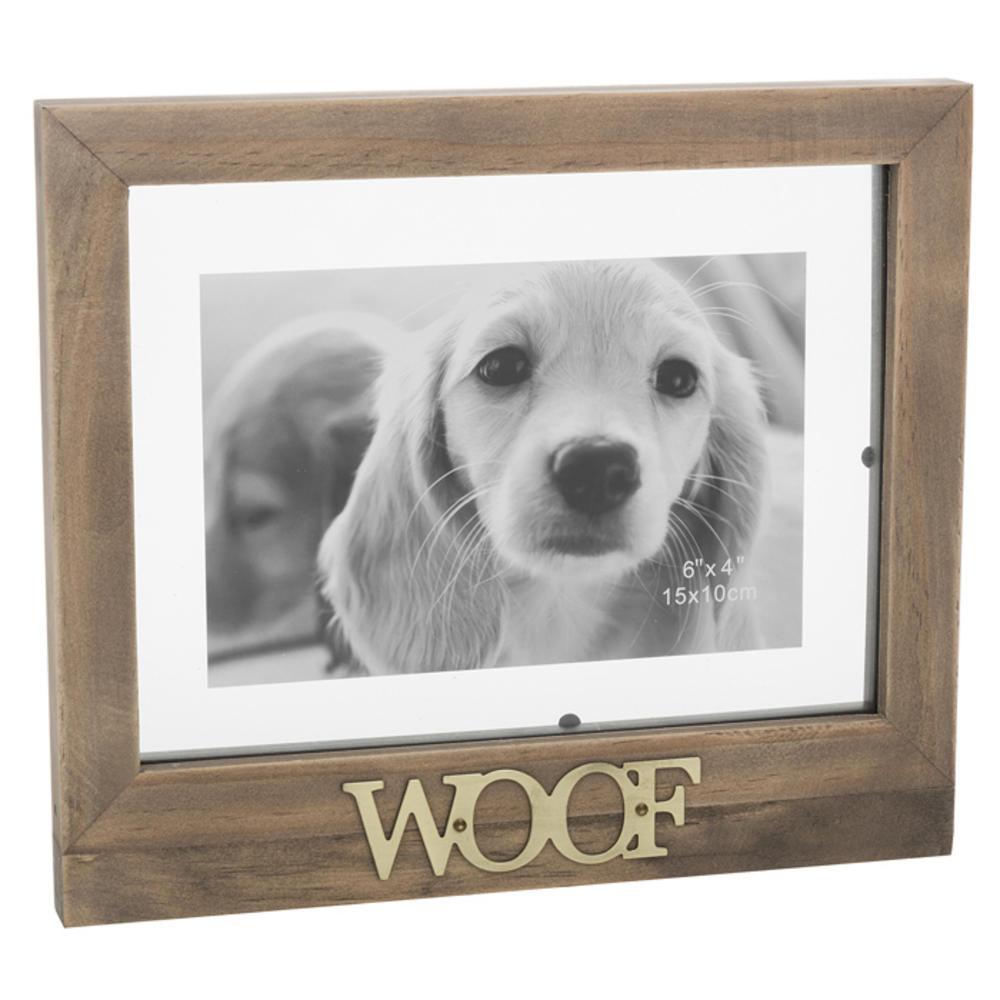 Dog Floating Words Photo Frame