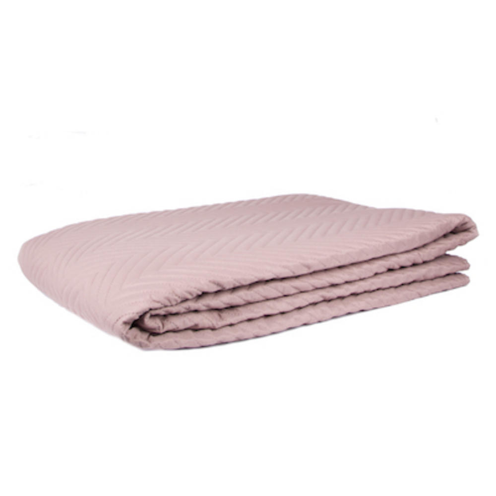 Malini Double Size Quilted Bedspread in Linen Cream