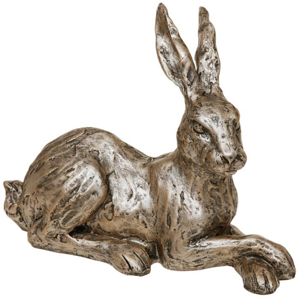 Champagne Bronze Hare Lying