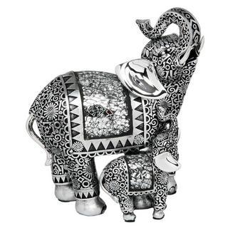 Silver Elephant & Baby Thumbnail 1