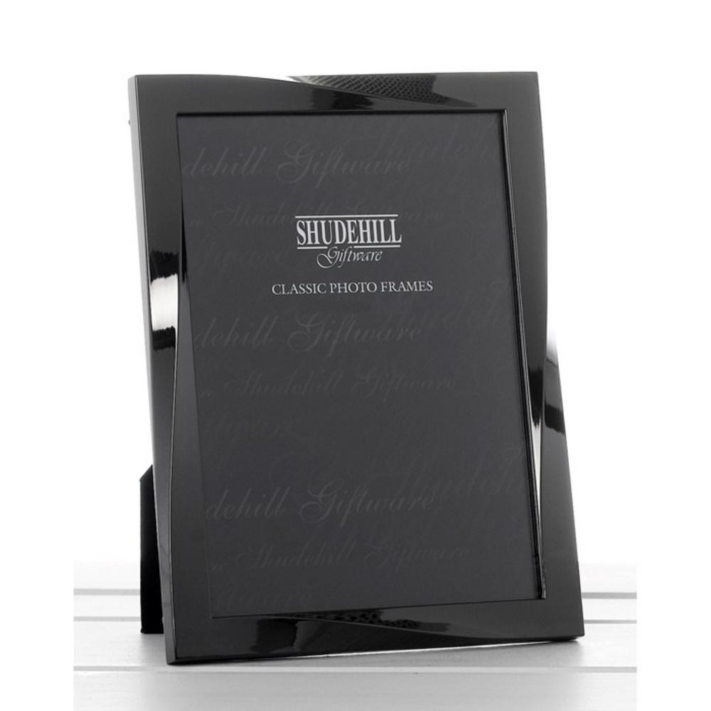 Gun Metal Photo Frame 6 x 8