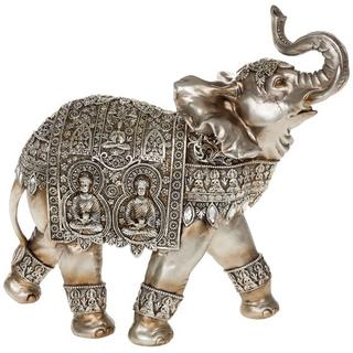 Silver Buddha Elephant Thumbnail 1