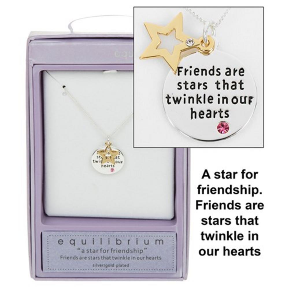 Star Sentiment Friendship Necklace