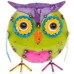 Jazzy Junk Round Owl 16Cm X 14Cm