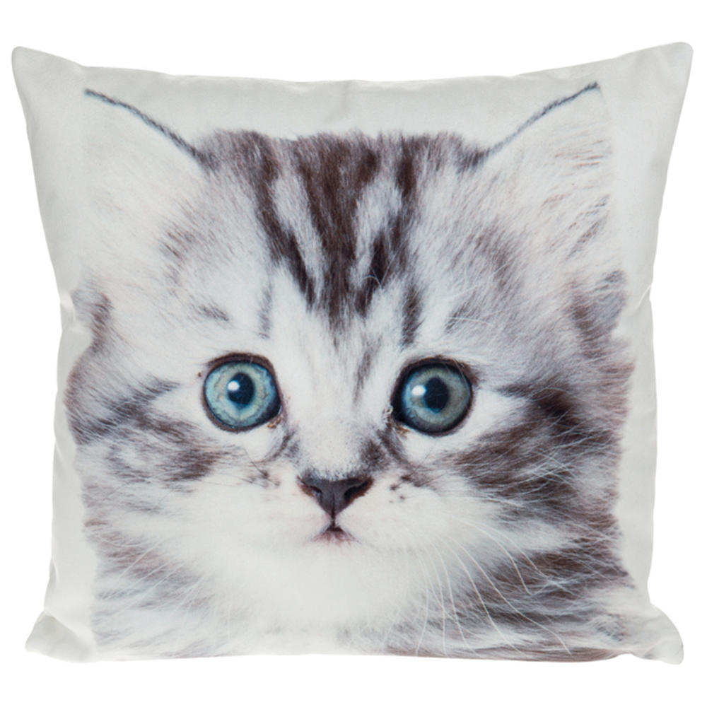 Visage Cushion Cute Kitten