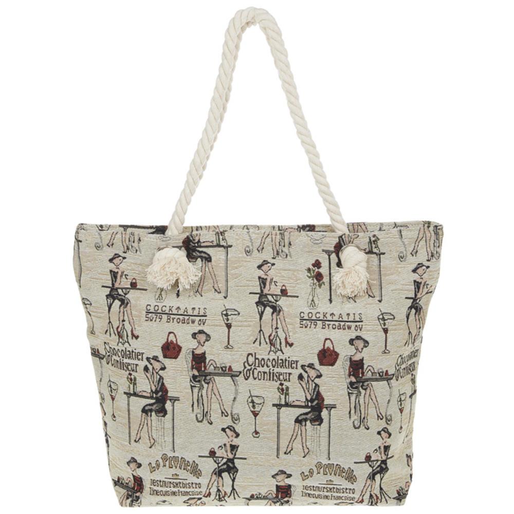 Parisienne Tapestry Bag