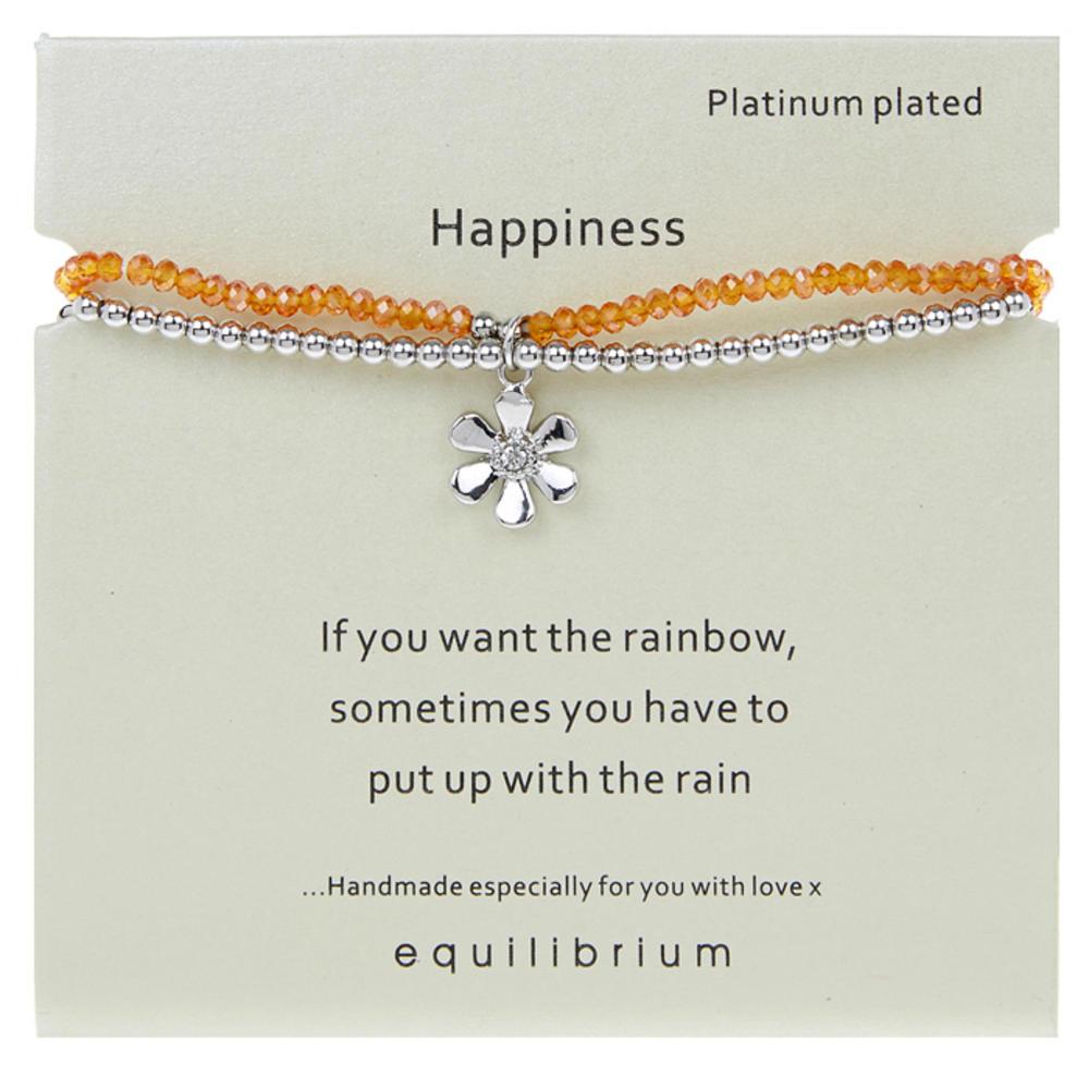 Happiness Platinum Plated Bracelet