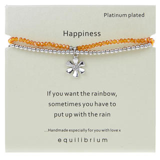 Happiness Platinum Plated Bracelet Thumbnail 1