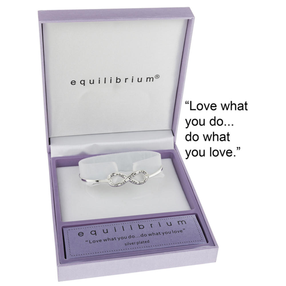 Love what you do do what you want bangle