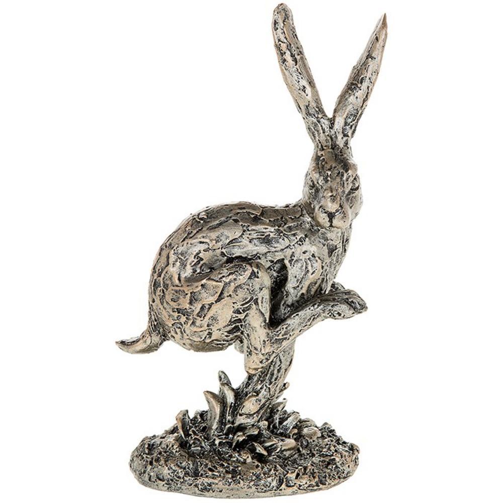 Champagne Bronze Hare Running