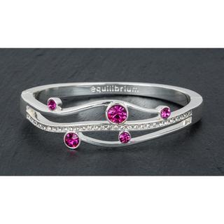 Gentle Curve Pink Half Bracelet Thumbnail 1
