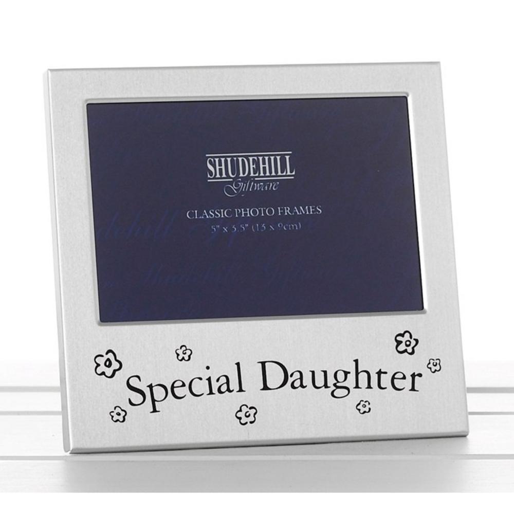 Shudehill Satin Silver Photo Frame - Special Daughter