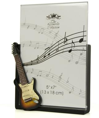 Guitar Photo Frame 5 x 7 Thumbnail 1