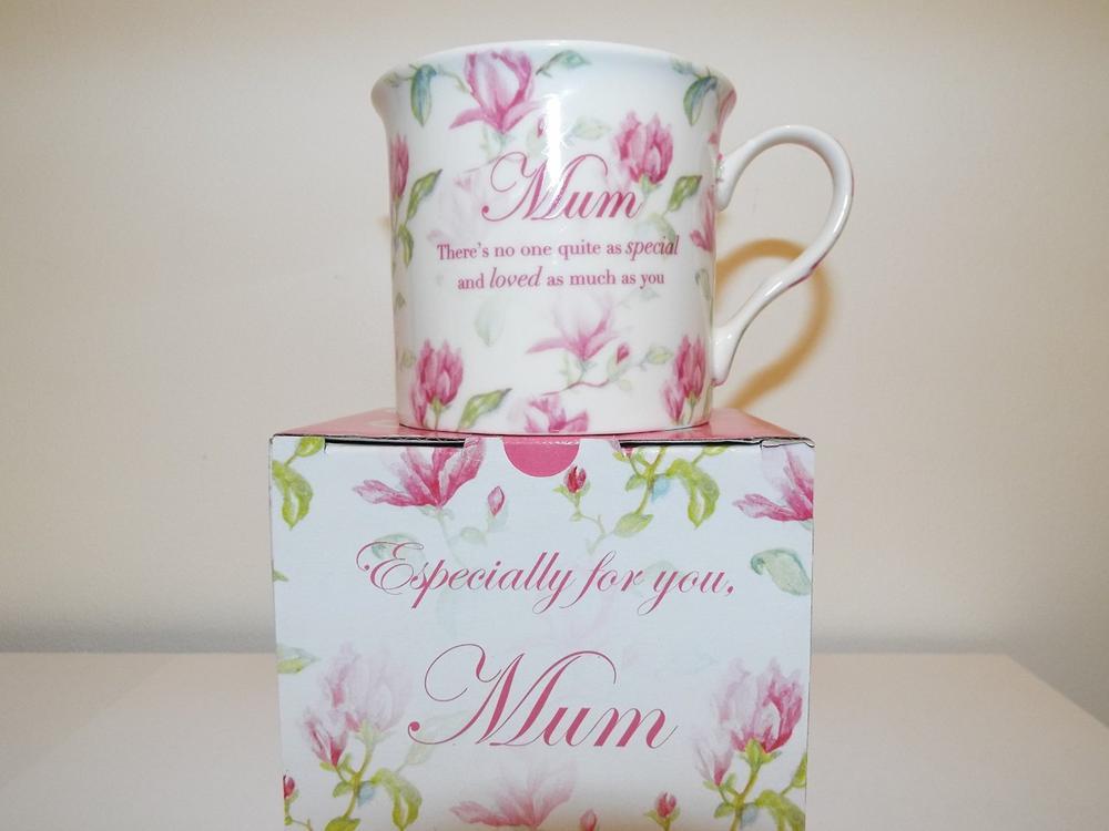 Vintage Lane Box Mug Mum