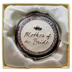 Silver Weddinging Compact Bride Mother