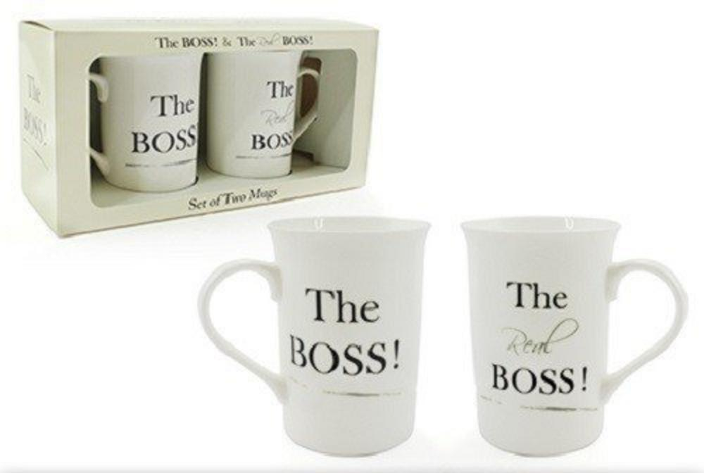 The Boss Mugs Set 2