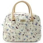 Ladies Flutterbys Zipped Handbag