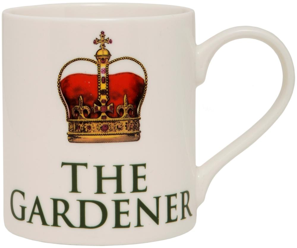 The Gardener Fine China Mug