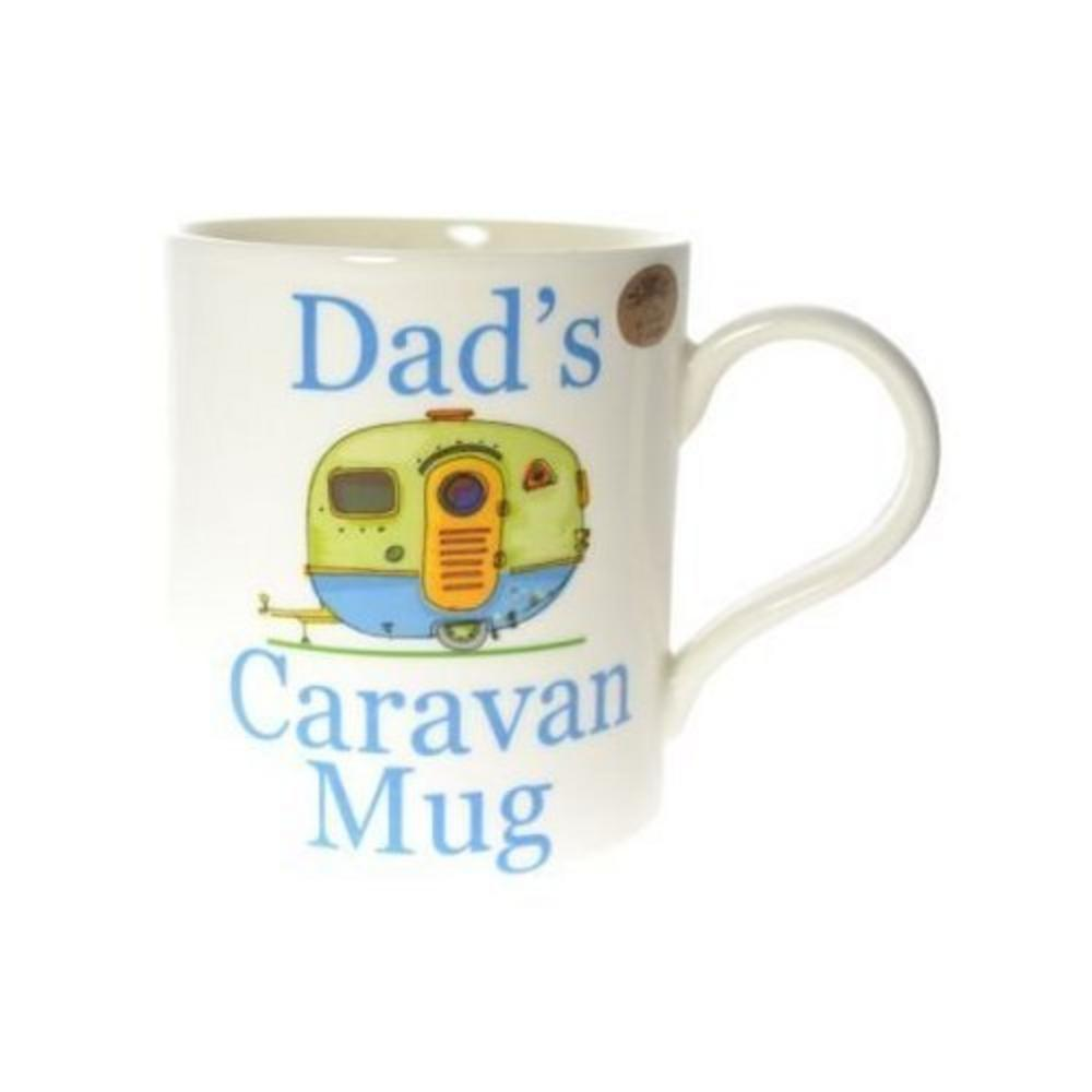 Dad's Caravan Fine China Mug in Gift Box